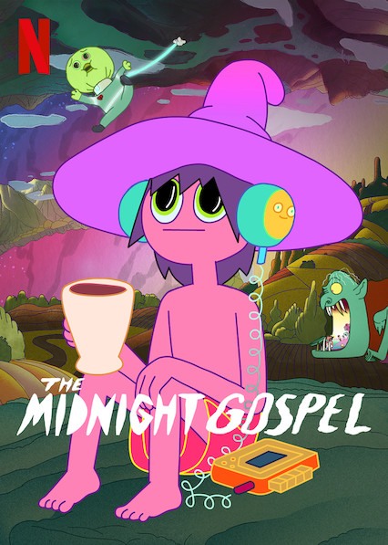 The exclusive Netflix series, Midnight Gospel