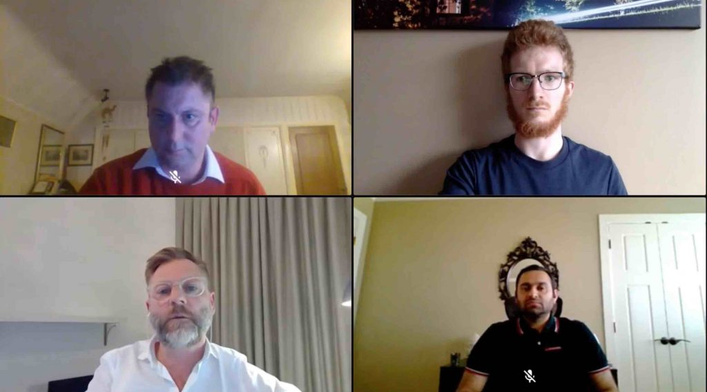 Virtual Psychedelic Conference panel